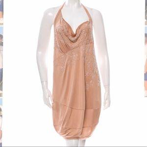 CHRISTIAN DIOR Bead-Embellished Evening Dress NWT